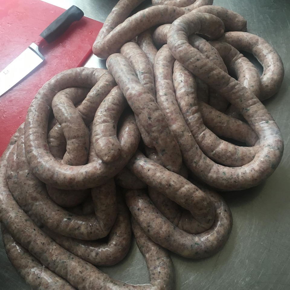 Sausage production